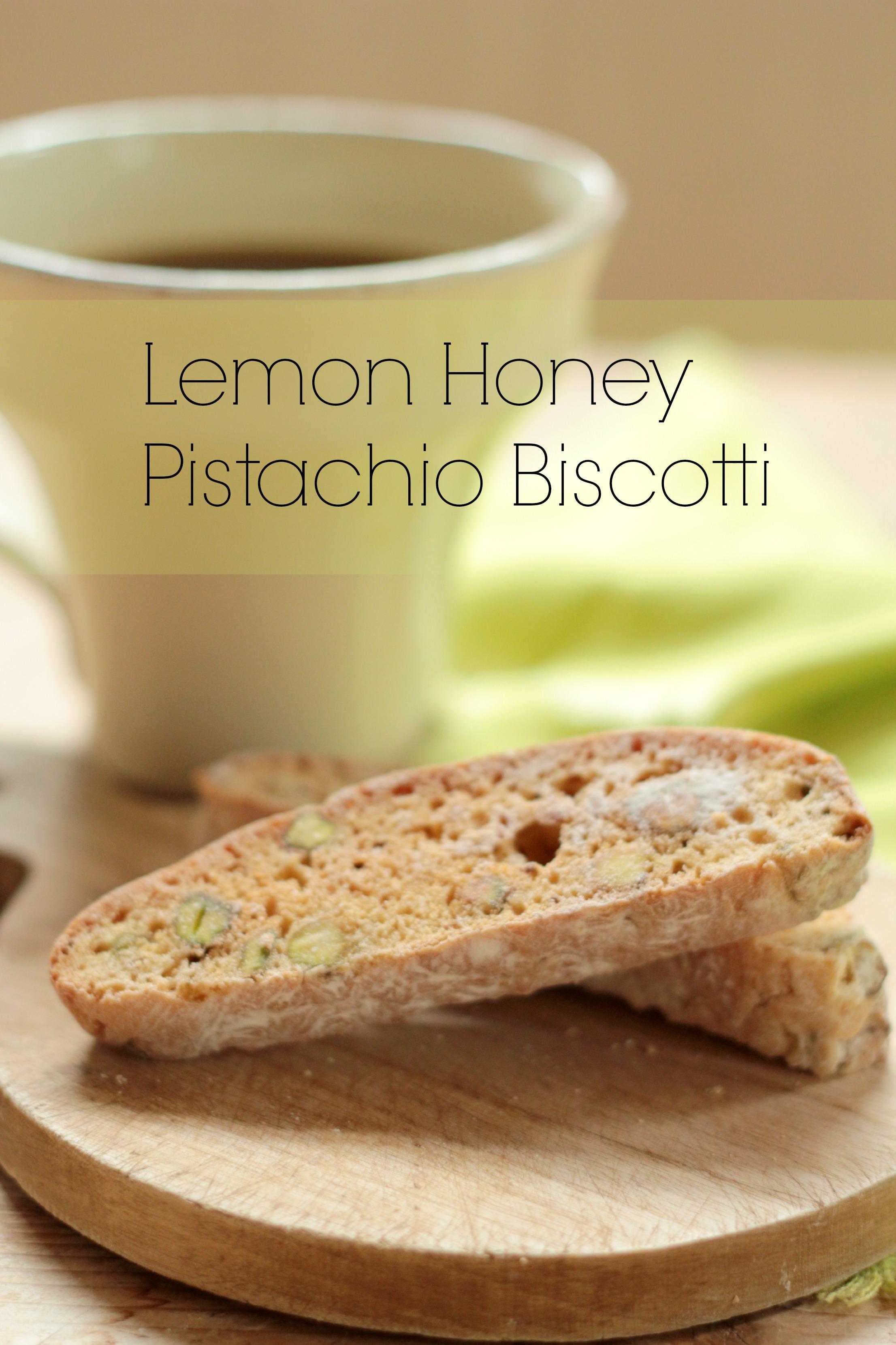 Honey Pistachio Biscotti Recipes — Dishmaps