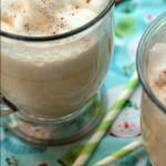 eggnog recovery smoothie