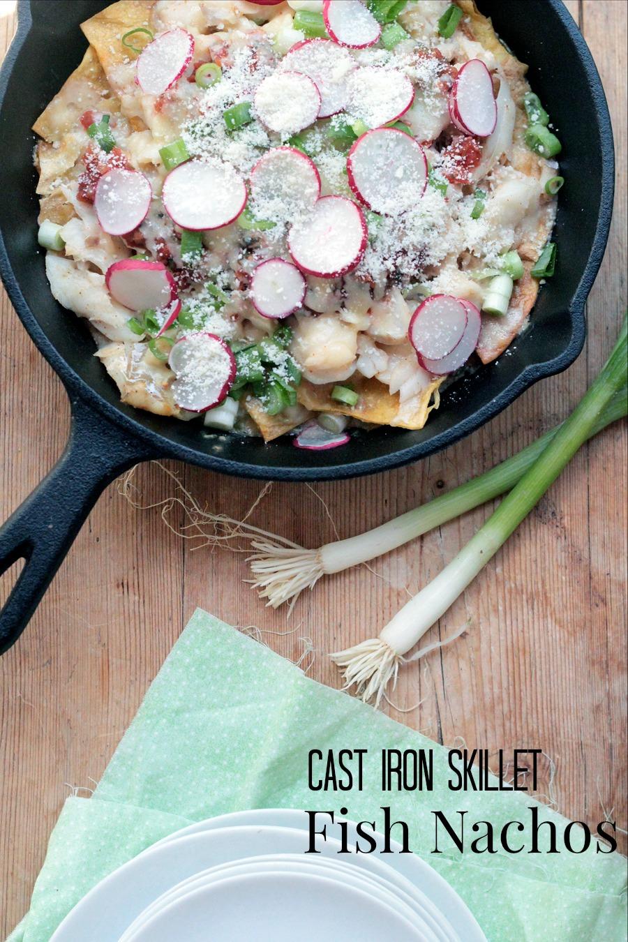 cast iron skillet fish nachos2