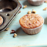 healthier banana nut muffins