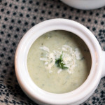 lighter broccoli cheddar soup