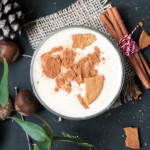 Eggnog Smoothie Bowl