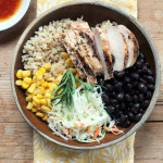 easy lunch bowl uses leftovers