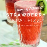 Strawberry Kiwi Fizz