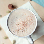 Chai tea latte made with less sugar, without compromising taste