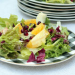 winter salad with fennel and citrus.
