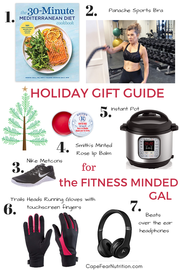 Holiday Gift Guide for the Fitness Minded Gal