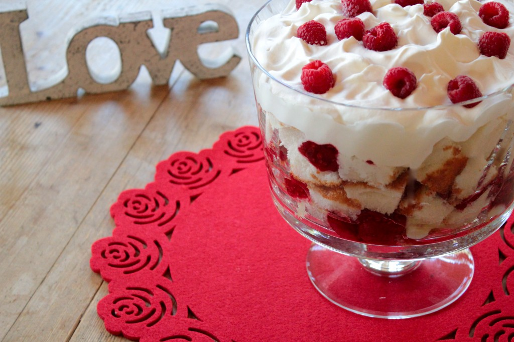 Low fat English Trifle