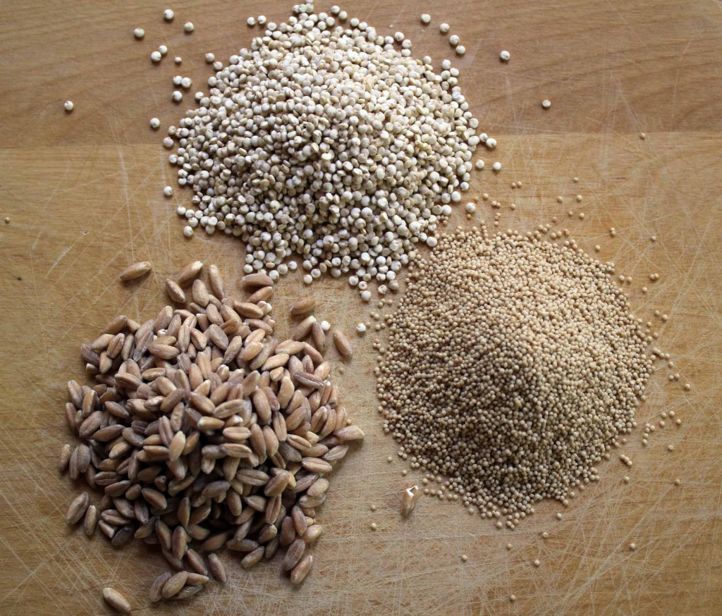 Quinoa, Farro, and Amaranth... Oh My!