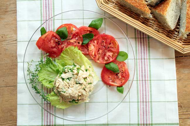 Tuna Salad with Citrus Herb Vinaigrette