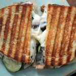 Vegetable Panini with Basil
