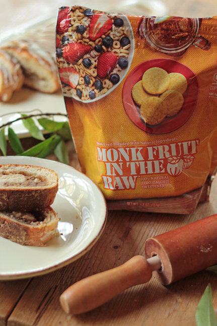 Monk Fruit in the Raw keeps sugar in check in this Holiday Nut Roll