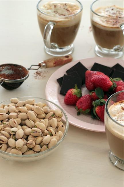 Indulgent  in-shell pistachio treat