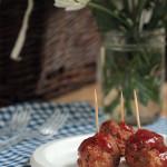 BBQ Teriyaki Meatballs