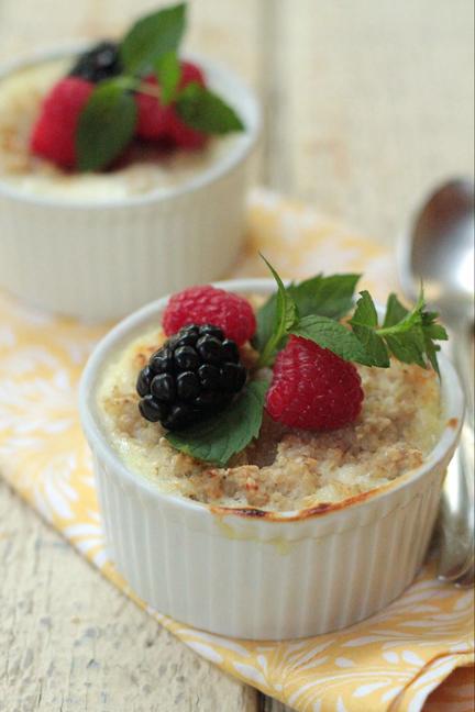Oats & Dairy for Breakfast and Beyond: Oatmeal Brûlée