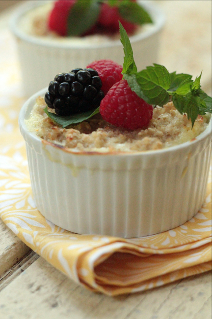 Oats & Dairy for Breakfast and Beyond: Oatmeal Brûlée