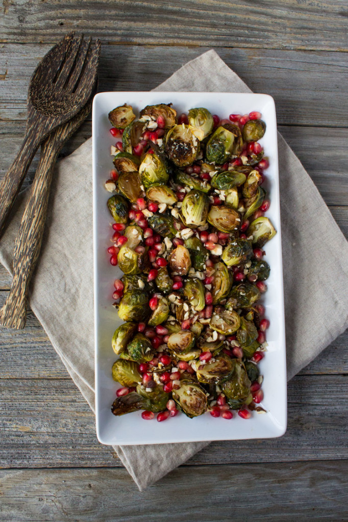 Brussels Sprouts with Pomegranate Seeds-4