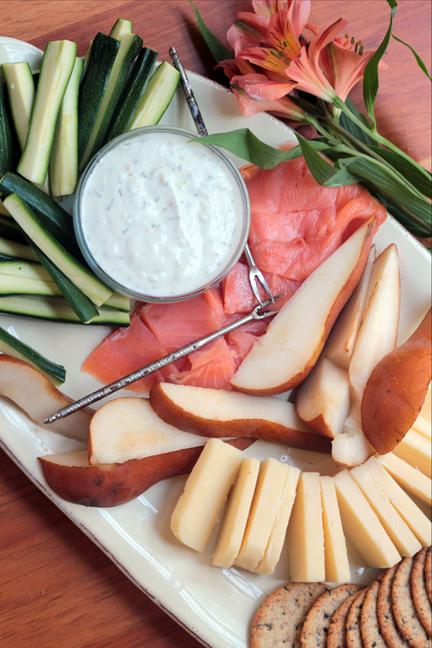 Mediterranean Cheese Board