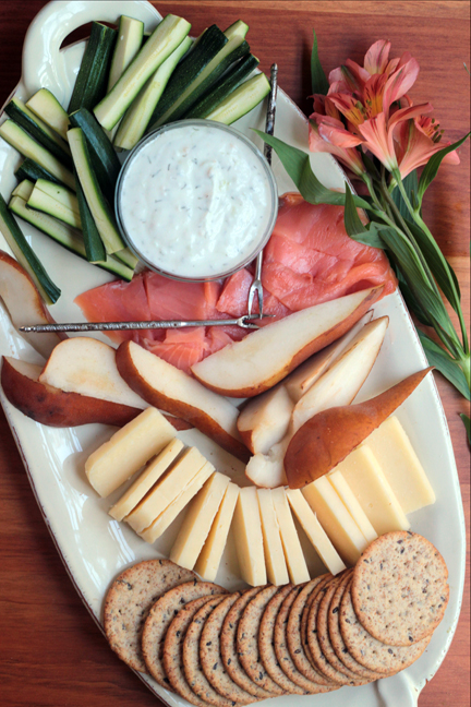 Mediterranean Cheese Board