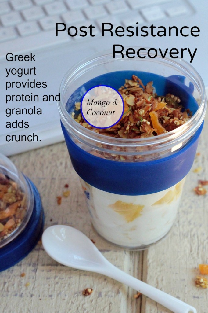Pineapple Greek Yogurt with Granola