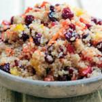 Cranberry & Cilantro quinoa Salad