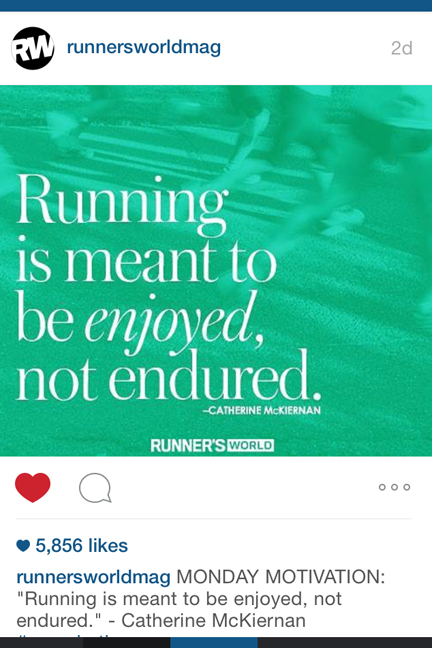 runner's world motivation
