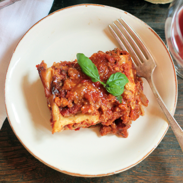 Freezer Friendly Beef & Eggplant Lasagna