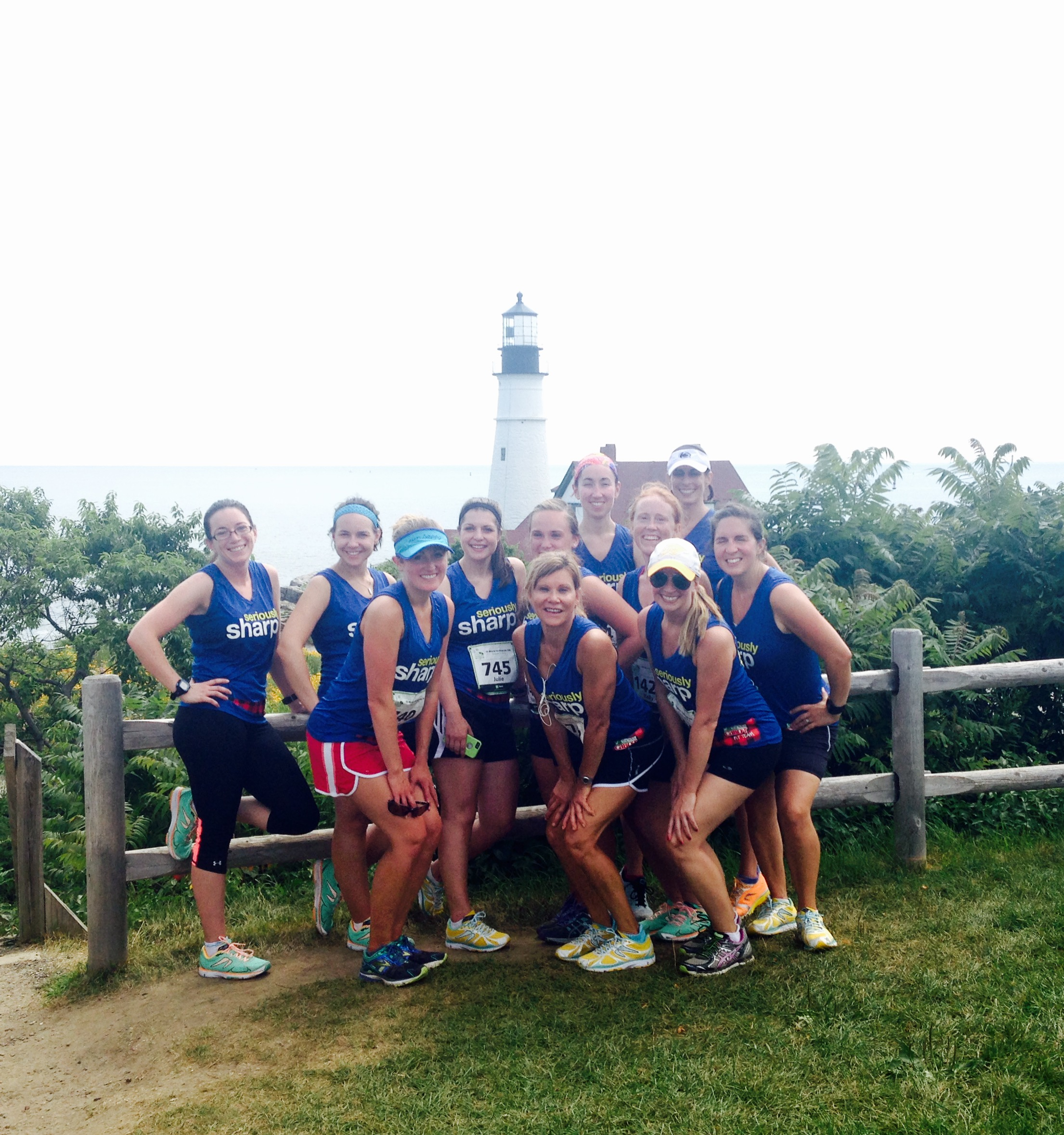 Cabot fit team  2015; beach to Beacon