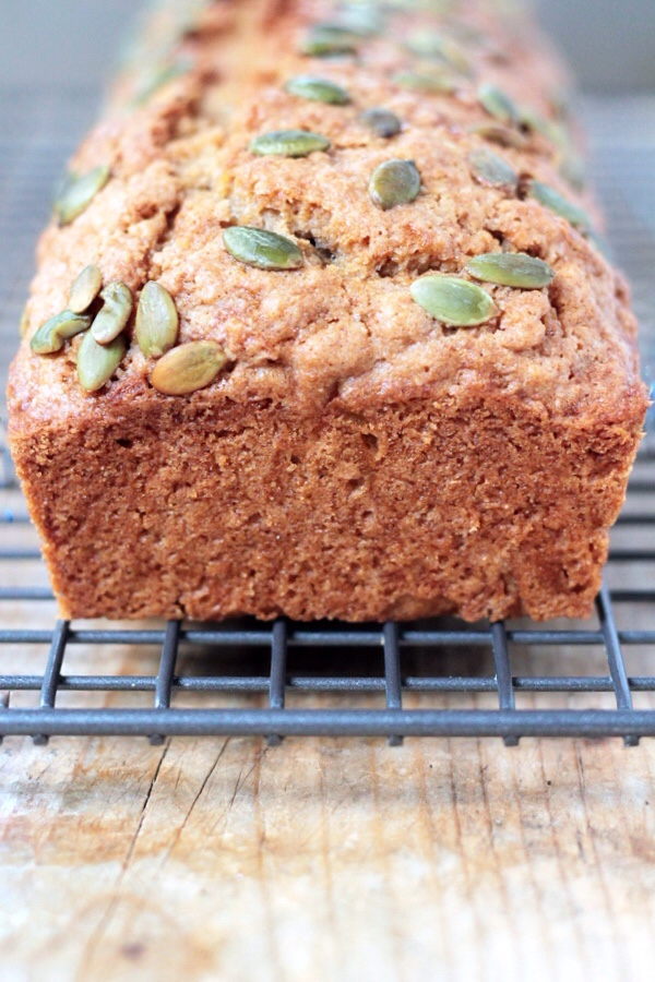 Zucchini Bread with Pepitas