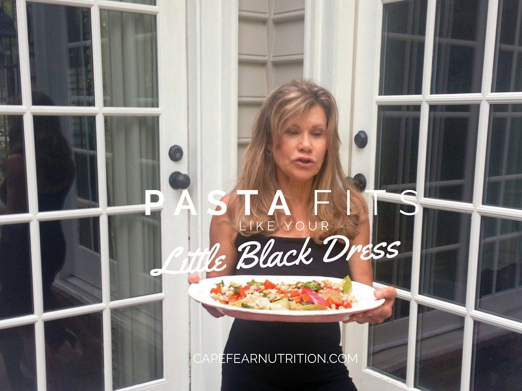 pasta fits like your little black dress