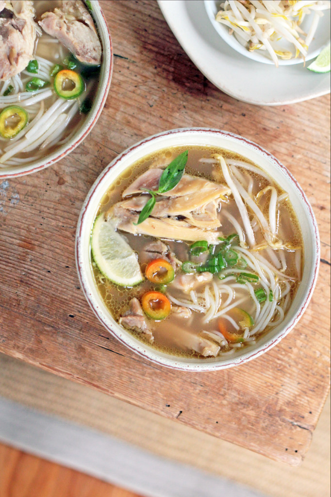 Quick Chicken Noodle Pho