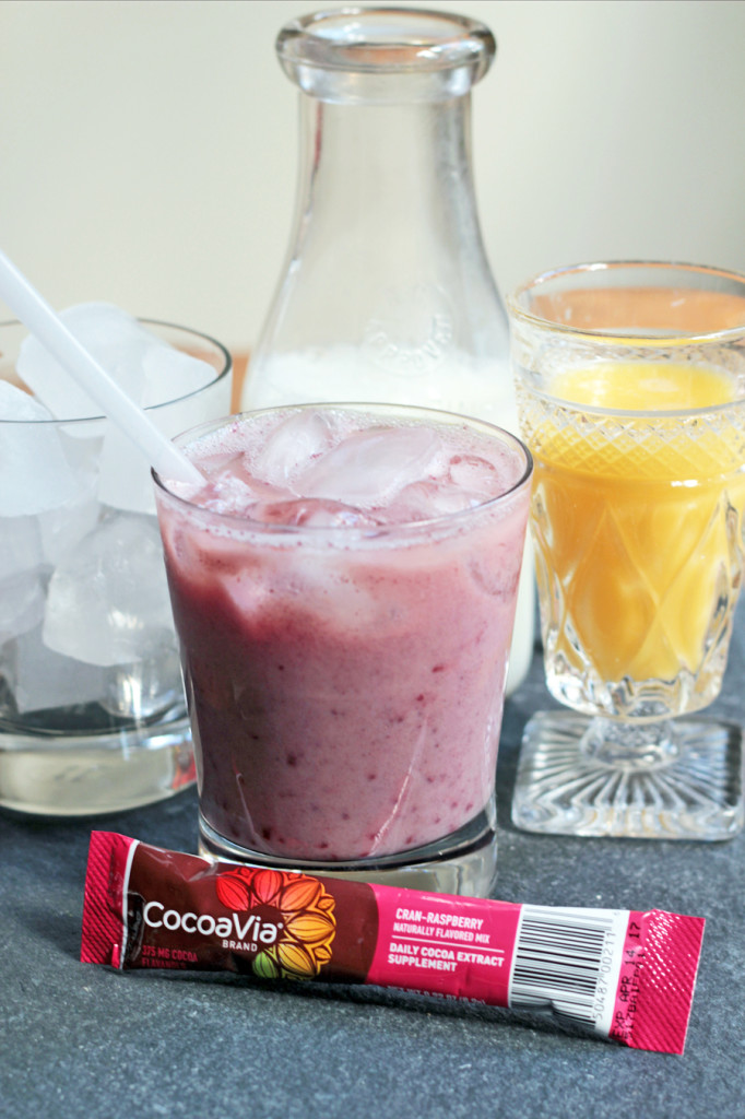 three fruit smoothie