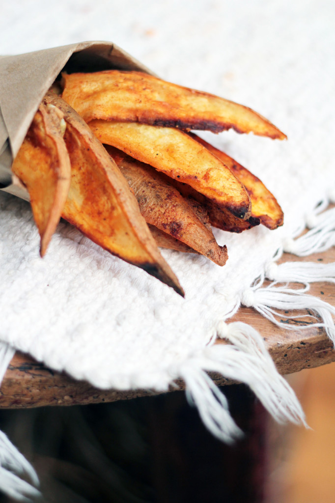 paprika baked sweet potato fries