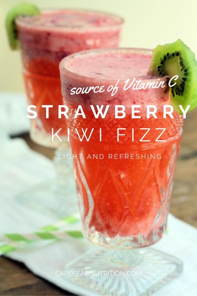 Strawberry Kiwi Fizz