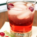 Cranberry Shrub is a terrific mocktail.