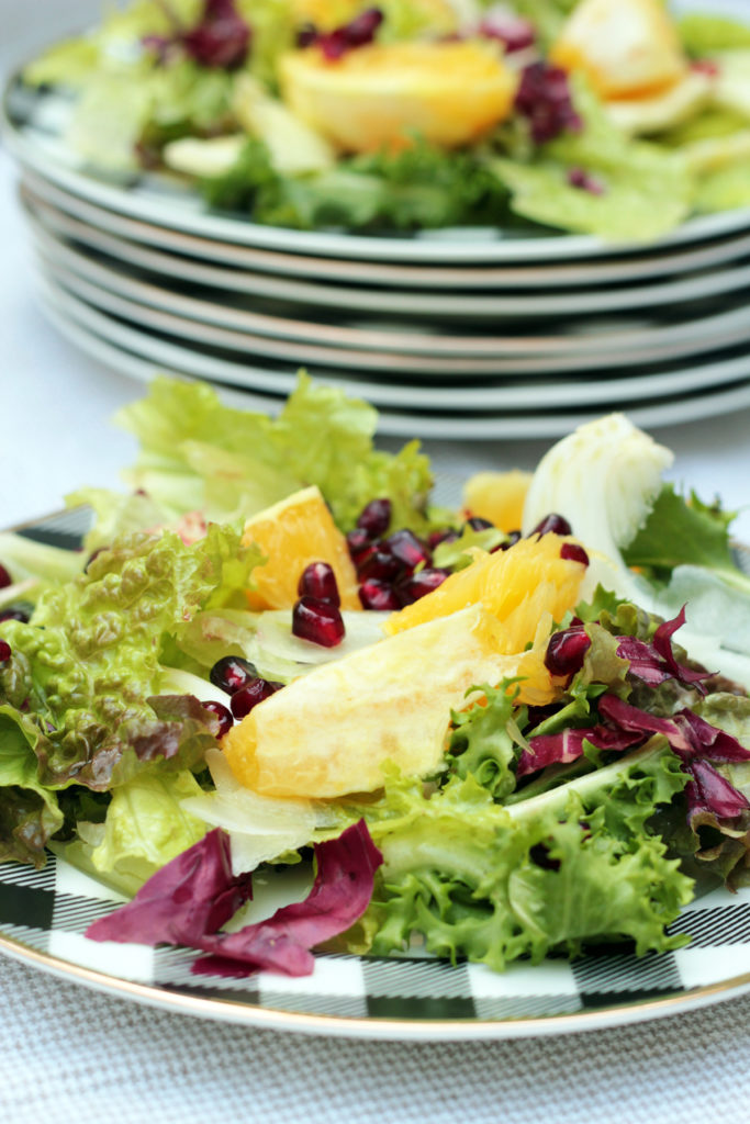 WInter Salad with Fennel and Citrus