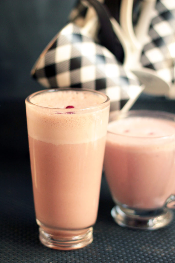 Pomegranate Chai Smoothe
