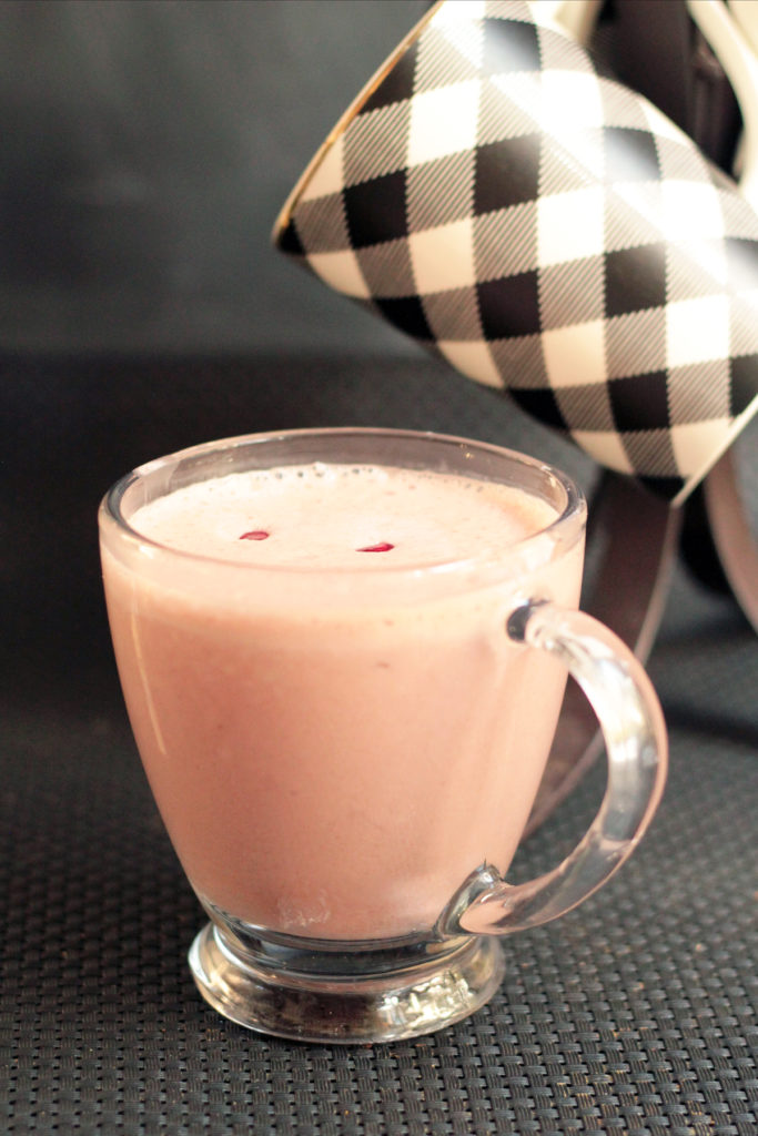 Pomegranate Chai Smoothie