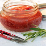 No added sugar BBQ sauce with rosemary