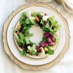 Tossed Salad with Oranges, Fennel and Pomegranate Arils